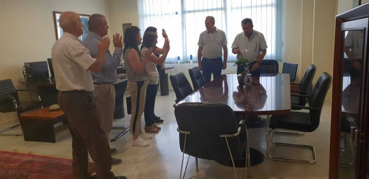 Τελετή ορκωμοσίας πέντε (5) ατόμων που απέκτησαν την ελληνική ιθαγένεια με πολιτογράφηση, πραγματοποιήθηκε σήμερα Παρασκευή στη 13:30 μ.μ. στο γραφείο του Συντονιστή της Αποκεντρωμένης Διοίκησης Ηπείρου-Δυτικής Μακεδονίας, στην Κοζάνη.