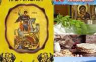 Αγιασμός στον Πολιτιστικό Λαογραφικό Σύλλογο Πρωτοχωρίου. Υποδοχή Φλόγας της 16ης Λαμπαδηδρομίας Εθελοντών Αιμοδοτών