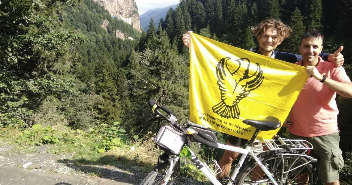 Ο άθλος ενός Έλληνα γίγαντα – Από το Βέρμιο στην Τραπεζούντα με ποδήλατο σε 10 ημέρες