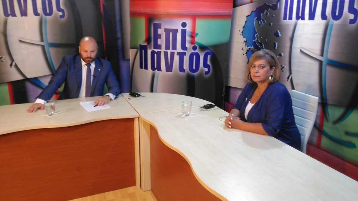 Η υποψήφια δήμαρχος Σερβίων-Βελβεντού Χιονία Ανδρεάδου στην εκπομπή