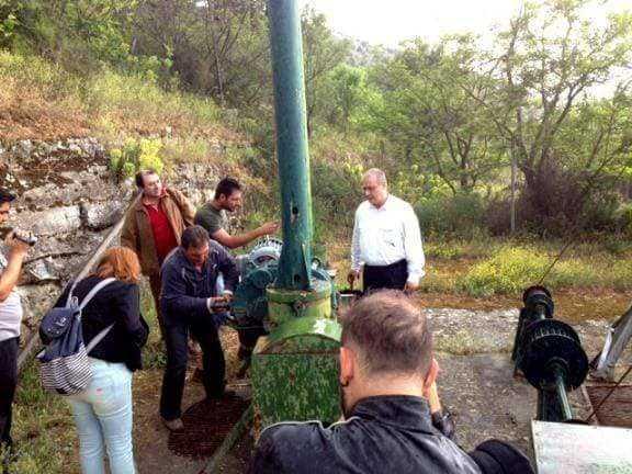 Ενημερωτική σύσκεψη στο Υπουργείο Περιβάλλοντος για την προστασία της λίμνης Βεγορίτιδας και της Δημόσιας Υγείας.