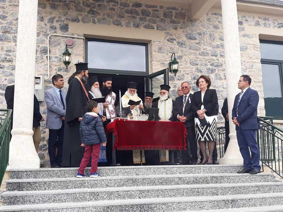 Τελετή εγκαινίων του ανακαινισμένου Δημοτικού Σχολείου Μικροκάστρου του Δήμου Βοϊου