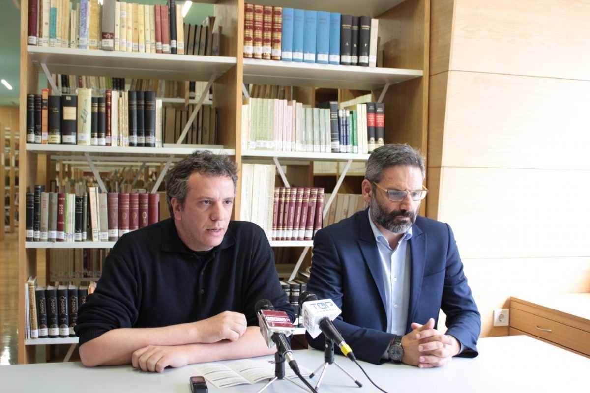 Ξεκινούν οι εκδηλώσεις για τα εγκαίνια του νέου κτιρίου της Κοβενταρείου Δημοτικής Βιβλιοθήκης- Λευτέρης Ιωαννίδης: H Κοβεντάρειος Βιβλιοθήκη δεν είναι μόνο της Κοζάνης αλλά ολόκληρης της χώρας
