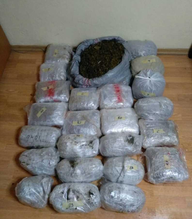 Συνελήφθησαν 3 άτομα για διακίνηση ποσότητας ακατέργαστης κάνναβης βάρους -39- κιλών, σε περιοχή της Καστοριάς, από αστυνομικούς της Διεύθυνσης Αστυνομίας Καστοριάς