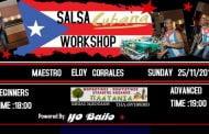 Σεμινάριο SALSA CUBANA με Τον Maestro Eloy Corrales και Latin Party pin από τπν Μορφωτικό Πολιτιστικό Σύλλογο
