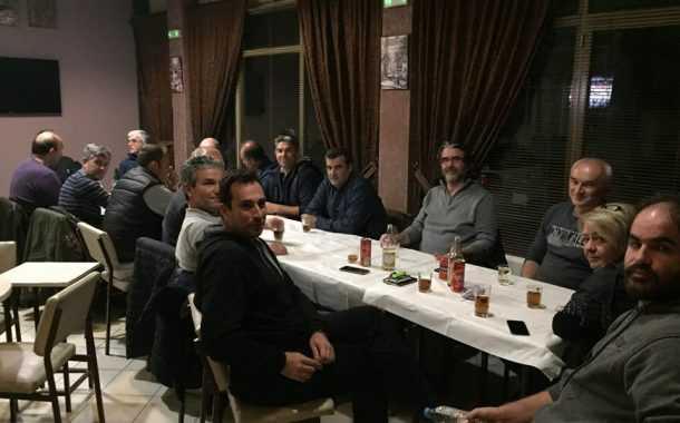 Ξεκίνησε τις προεκλογικές του επαφές ο υποψήφιος δήμαρχος Σερβίων Βελβεντού Χρήστος Ελευθερίου