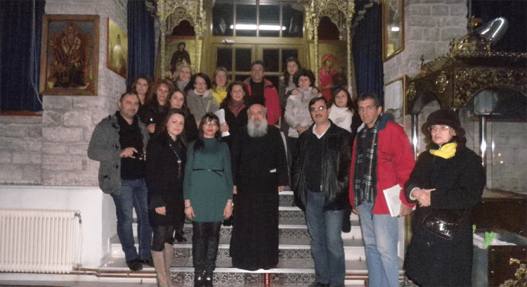 Επίσκεψη του  Κέντρου Δια Βίου Μάθησης Δήμου Κοζάνης στον Άγιο Νικόλαο και τη Δημοτική Βιβλιοθήκη