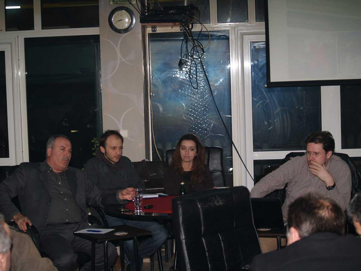 Ενημερωτική εκδήλωση για την τηλεθέρμανση με βιομάζα στο Μανιάκι