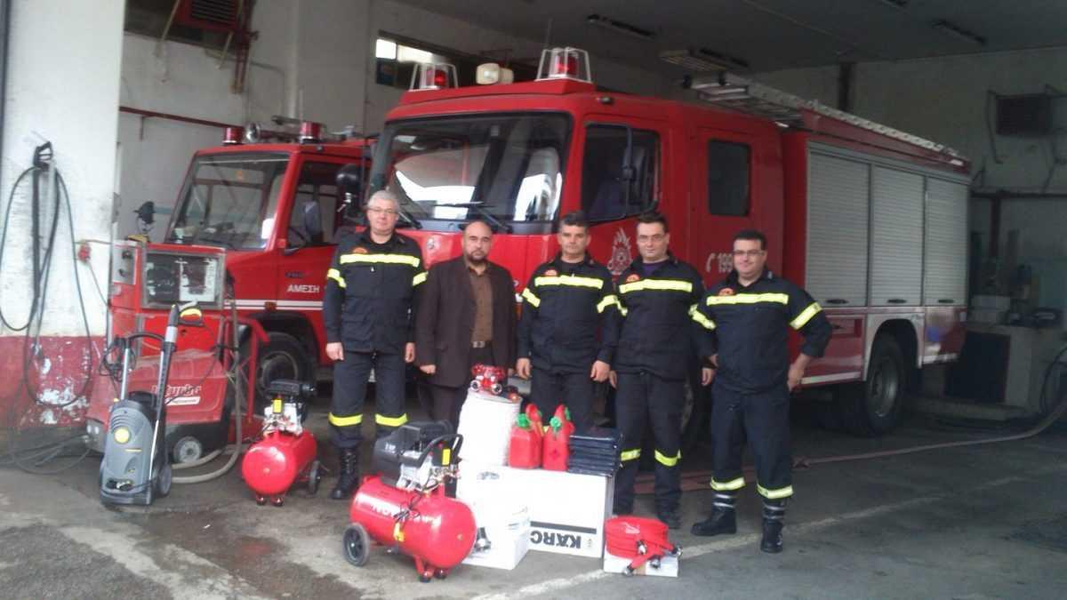 Δήμος Κοζάνης: Παραχώρηση εξοπλισμού στην Πυροσβεστική Υπηρεσία Κοζάνης