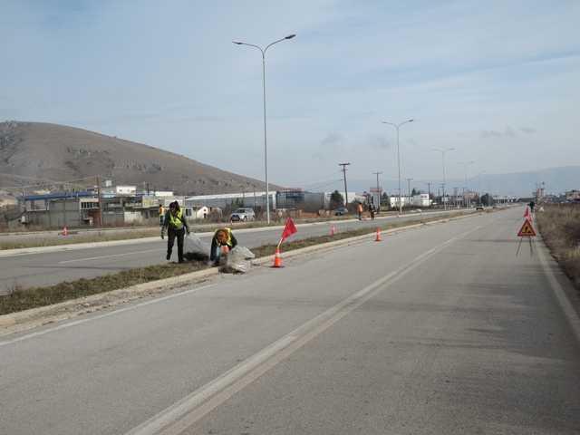 Συνεργασία ΔΙ.Α.ΔΥ.ΜΑ. Α.Ε. και Δήμου Κοζάνης για τον καθαρισμό  των εισόδων της πόλης της Κοζάνης