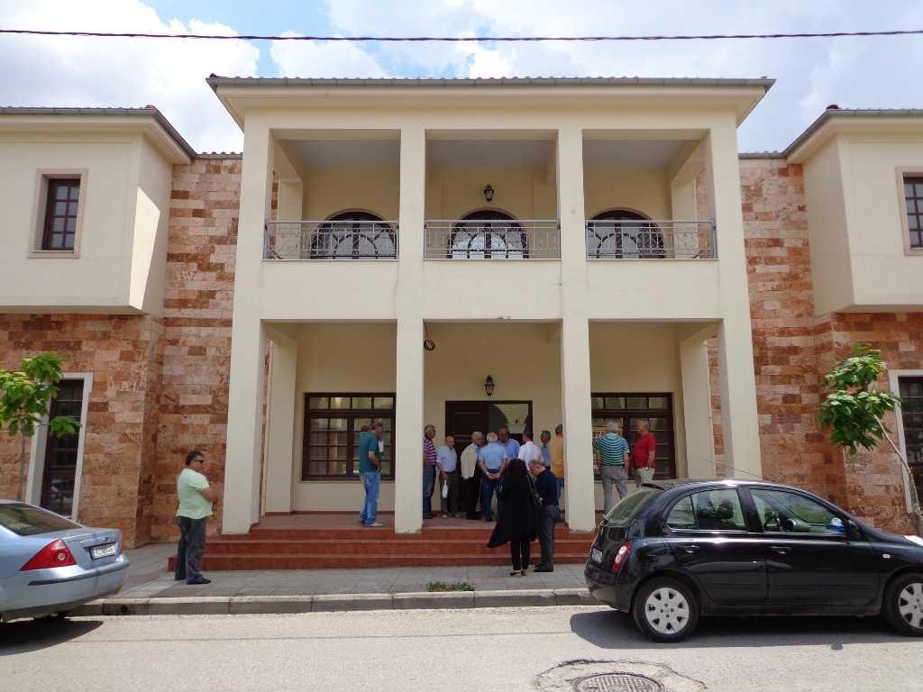 Ολοκληρώνεται το κτίριο της Ευξείνου Λέσχης Κοζάνης  με την προμήθεια και του εξοπλισμού