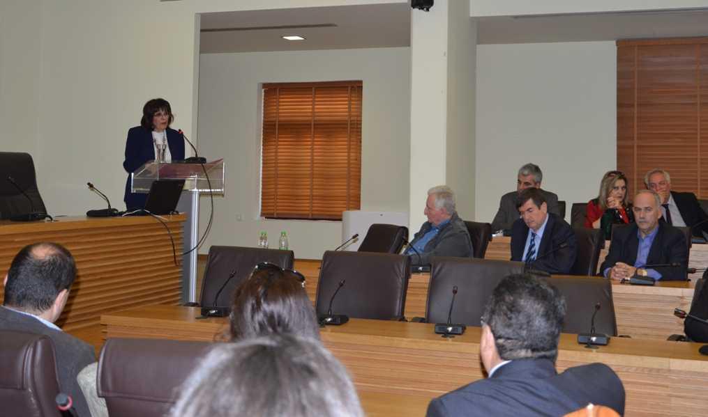 Ομιλία Γεωργίας Ζεμπιλιάδου υποψήφια Περιφερειάρχης Δυτικής Μακεδονίας με το συνδυασμό ΕΛΠΙΔΑ