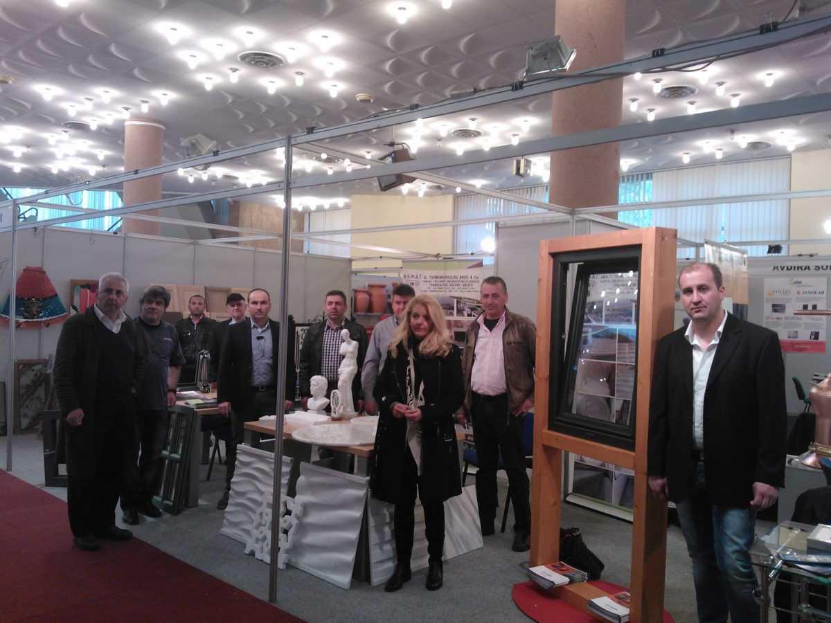 Επιτυχημένη η Εκθεσιακή Συμμετοχή του Επιμελητηρίου  Π.Ε. Κοζάνης στην Διεθνή Έκθεση Κατασκευών «CONSTRUCTIONS 2014» στα  Τίρανα της Αλβανίας που πραγματοποιήθηκε από 28 έως 30 Μαρτίου 2014