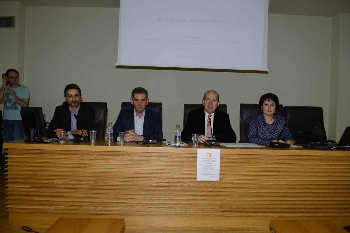 βράβευση επιτυχόντων σε οικονομικές σχολές της Χώρας, από την Διοίκηση του 5ου Περιφερειακού Τμήματος του Οικονομικού Επιμελητηρίου Ελλάδος