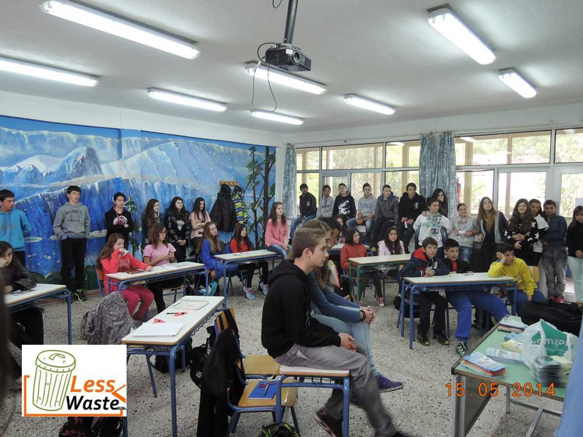 «H ΔΙΑΔΥΜΑ ΑΕ στο Γυμνάσιο Λαιμού για δράσεις περιβαλλοντικής ευαισθητοποίησης''