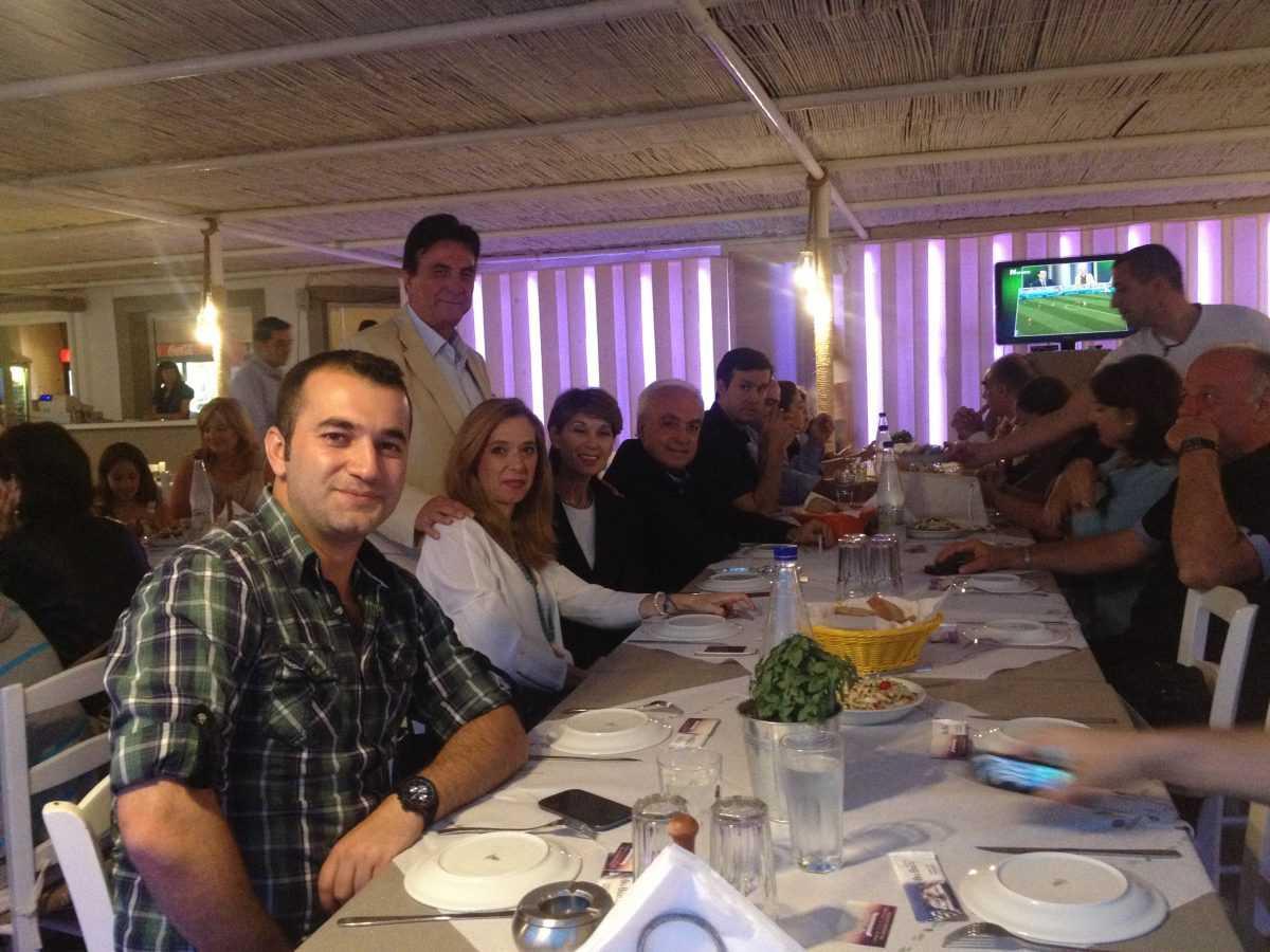 φιλικός αγώνας ποδοσφαίρου με συμμετοχή ποδοσφαιριστών από όλες τις ομάδες που συμμετείχαν στο πρωτάθλημα