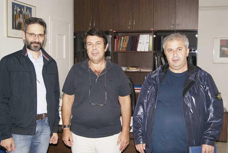 Επίσκεψη Δημάρχου Κοζάνης στο Μαμάτσειο Γενικό Νοσοκομείο