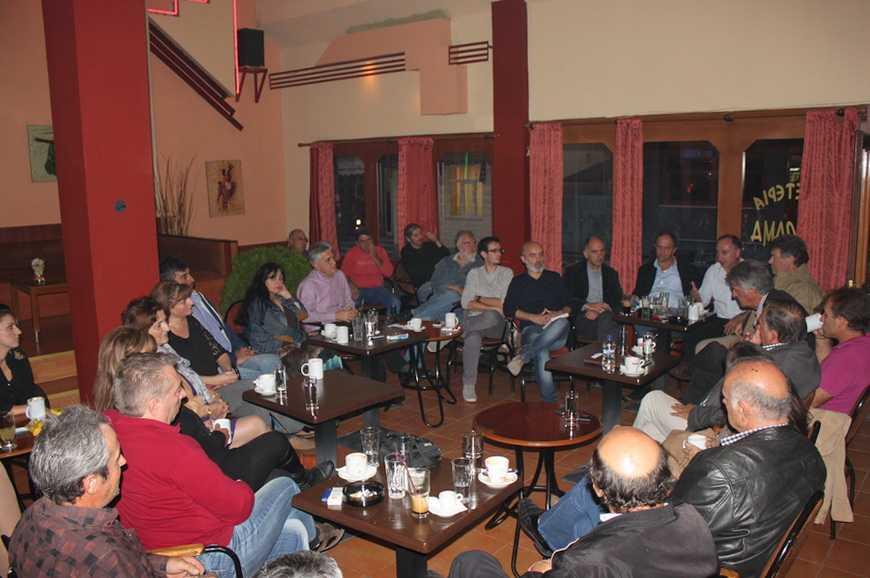 Ο δήμαρχος Λ. Ιωαννίδης εισηγητής στην ημερίδα « Ζωντανή Ελληνική Οικονομία»