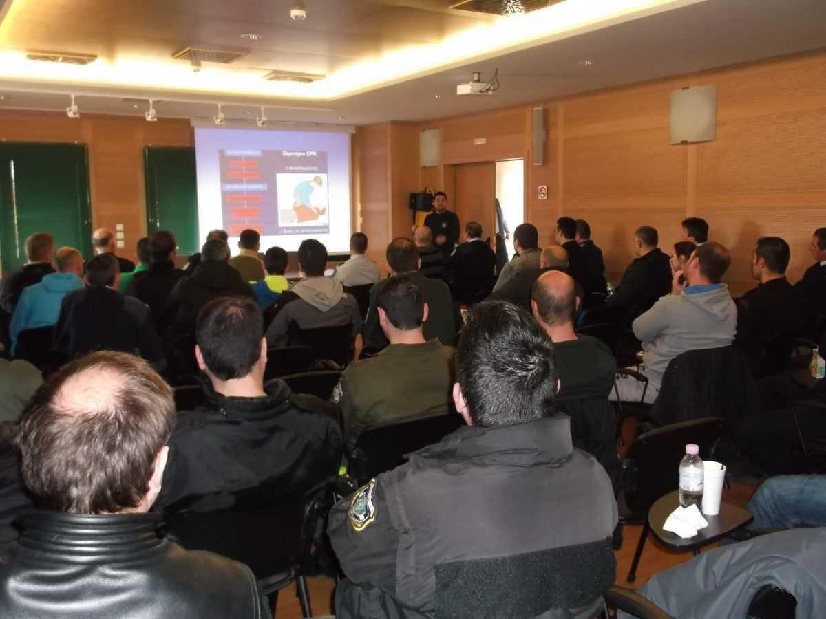 Διοργανώθηκε  με επιτυχία εκπαίδευση αστυνομικών της Διεύθυνσης Αστυνομίας Κοζάνης με θέμα «Παροχή πρώτων βοηθειών»