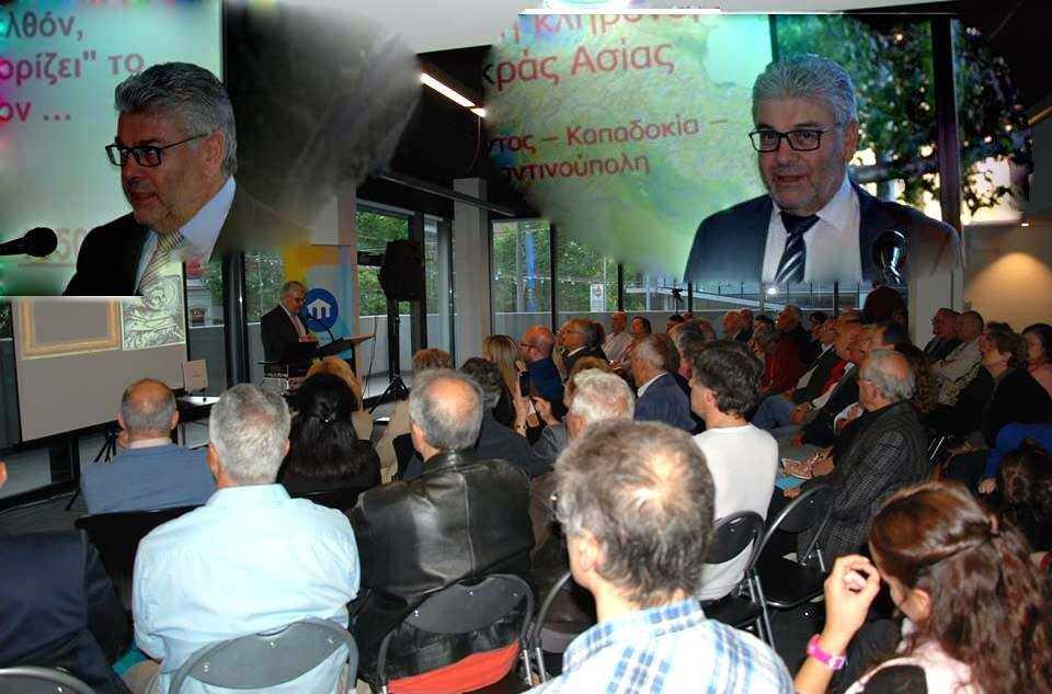 Ο εκ Γρεβενών  καθηγητής ΑΠΘ Θωμάς Σαββίδης μοναδικός προσκεκλημένος σε εκδηλώσεις των ομογενών της Μελβούρνης σ' ένα πολυάριθμο συγκινησιακά - πατριωτικά φορτισμένο ακροατήριο