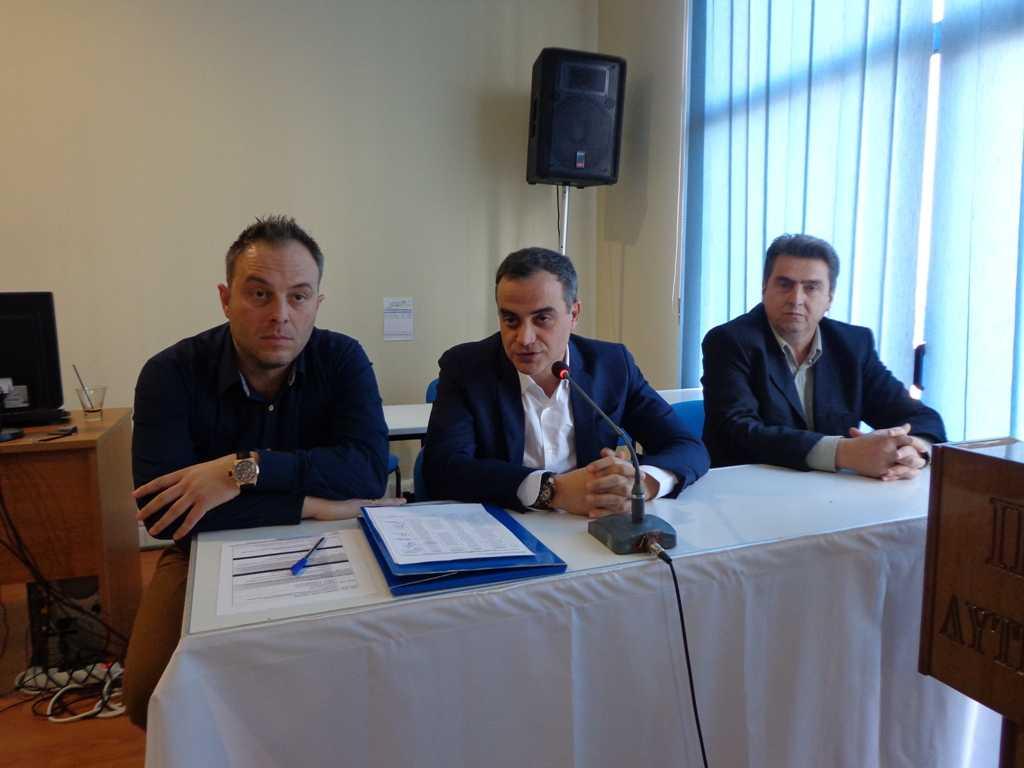 Εργαστήριο Επιχειρησιακού Σχεδιασμού για Σεισμό στην Κοζάνη