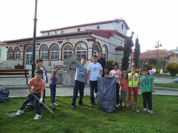 H Τ.Κ Κερασιάς συμμετείχε στην εθελοντική δράση καθαρισμού