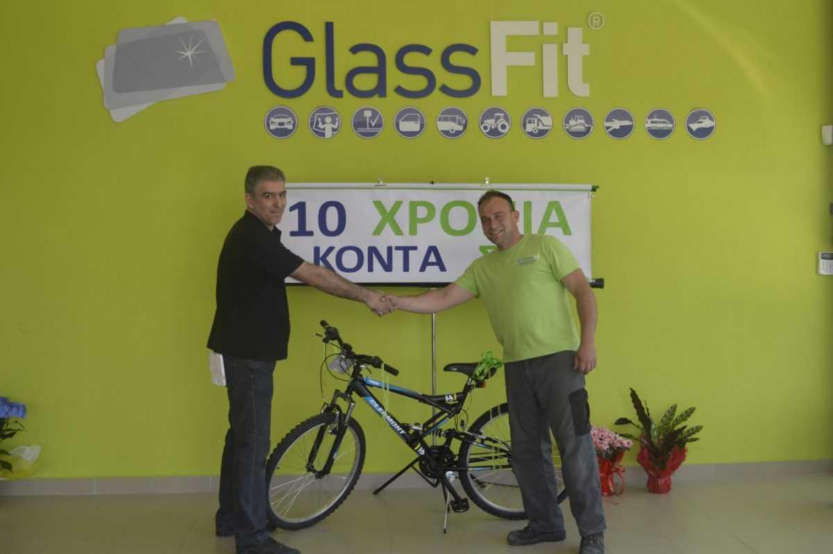 Στις 7/5/2015 H GLASSFIT ΚΑΡΑΓΙΑΝΝΗΣ γιόρτασε τα 10 χρόνια λειτουργίας …