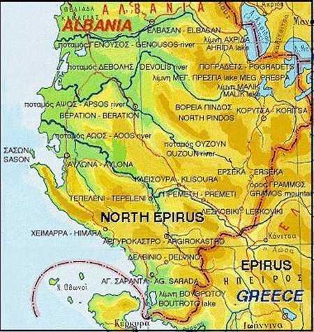 Η ΠΟΛΙΤΙΚΗ ΕΚΠΡΟΣΩΠΗΣΗ ΤΩΝ ΕΛΛΗΝΩΝ ΤΗΣ ΑΛΒΑΝΙΑΣ Kωνσταντίνος Χολέβας