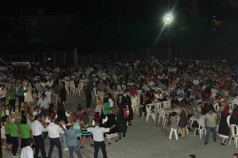 Εκατοντάδες πιστοί το Δεκαπενταύγουστο στην Παναγία Ζιδανίου