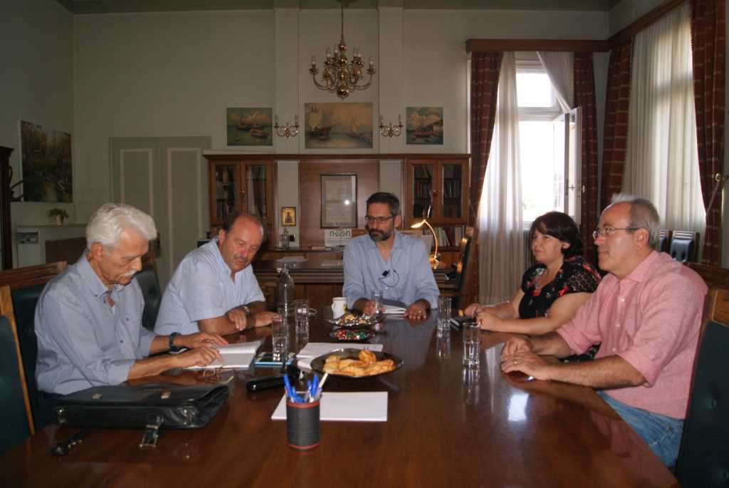 Η ενίσχυση του Περιφερειακού Υποκαταστήματος ΟΓΑ της Κοζάνης αντικείμενο συνάντησης του Δημάρχου Κοζάνης και του Διοικητή του ΟΓΑ.