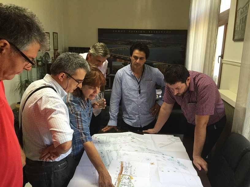 Σύσκεψη στο δήμο Σερβίων - Βελβεντού για τη μελέτη Ναυταθλητικών Εγκαταστάσεων στη λίμνη Πολυφύτου