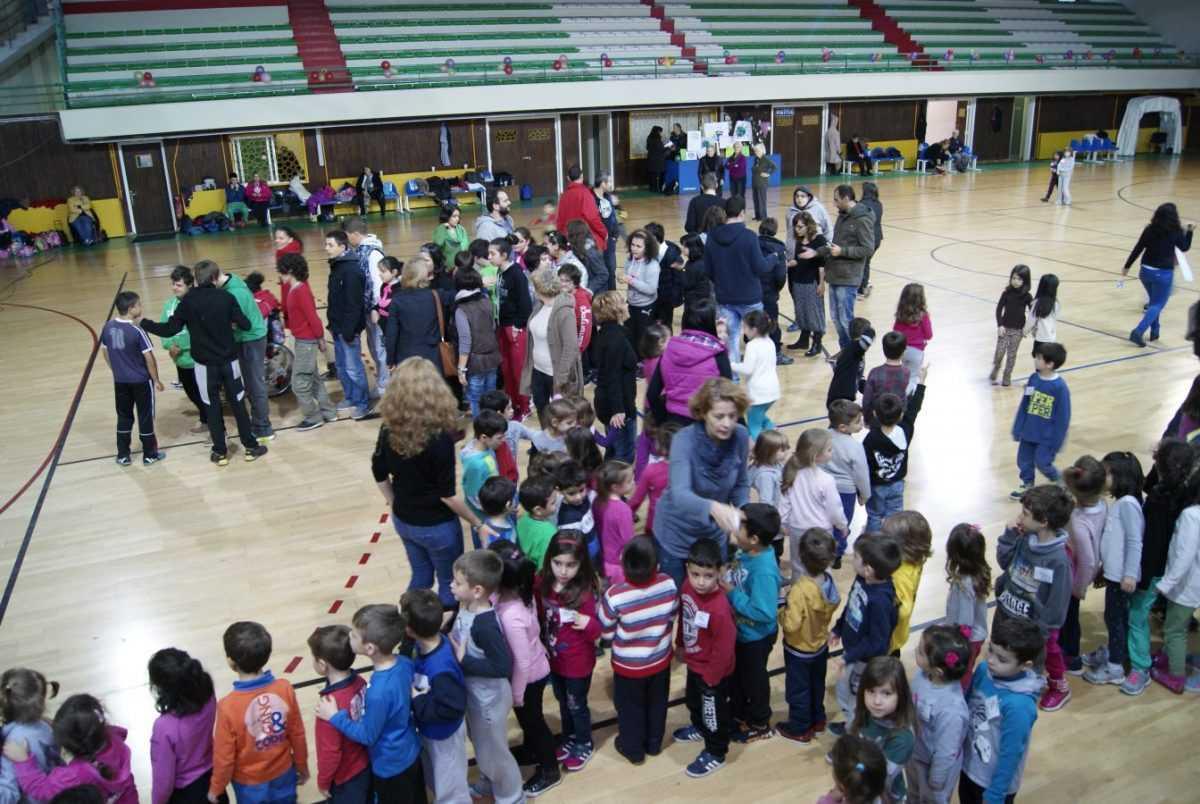 Μήνυμα ενάντια στην κλιματική αλλαγή από τα παιδιά της Κοζάνης