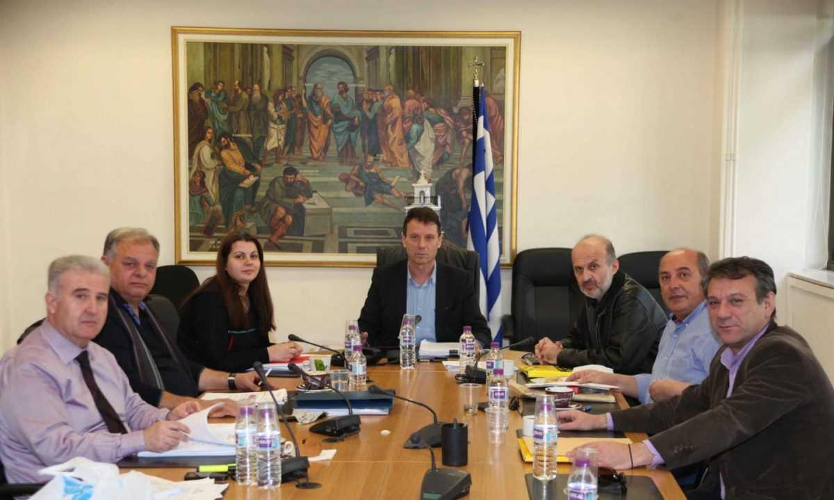 Συνάντηση στο Δημαρχείο Κοζάνης για την αντιμετώπιση θεμάτων σχετικά με τις μετεγκαταστάσεις Ακρινής και Ποντοκώμης