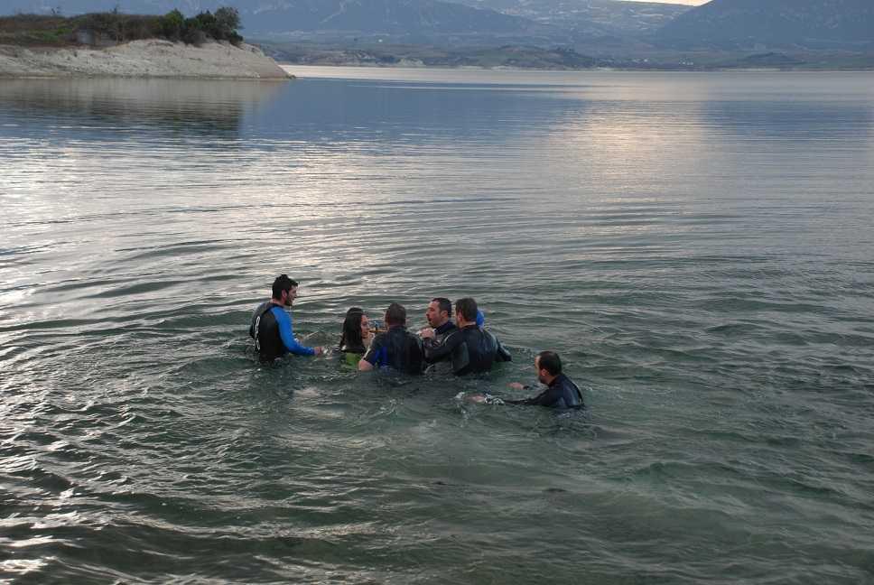 Εορτασμός Θεοφανείων στη Λίμνη Πολυφύτου