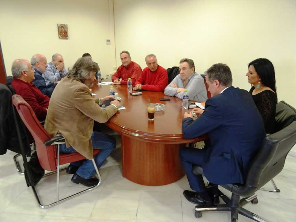 Σύσκεψη στην Περιφέρεια για τον ΑΗΣ Αμυνταίου
