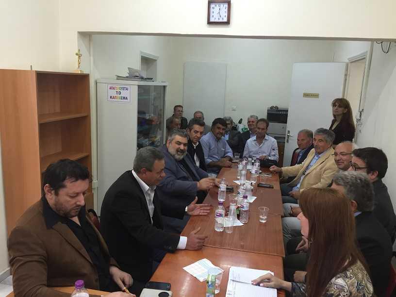 Σύσκεψη στην Ελάτη για την πεζογέφυρα που θα συνδέει την πλευρά της Ελάτης του Δήμου Σερβίων-Βελβεντού με το χώρο της Σκήτης της Ι. Μονής Οσίου Νικάνορα Ζάβορδας. Αναγκαίο και σημαντικό έργο