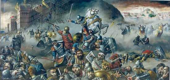 Η ΚΩΝΣΤΑΝΤΙΝΟΥΠΟΛΗ ΔΙΑΧΡΟΝΙΚΑ ΚΑΙ Η ΑΛΩΣΗ ΤΗΣ ΤΟ 1453 (Στεφάνου Καρανίκα)