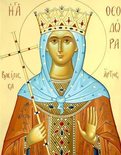 Εορτή της εκ Σερβίων Αγίας Θεοδώρας την Κυριακή 30 Ιουνίου