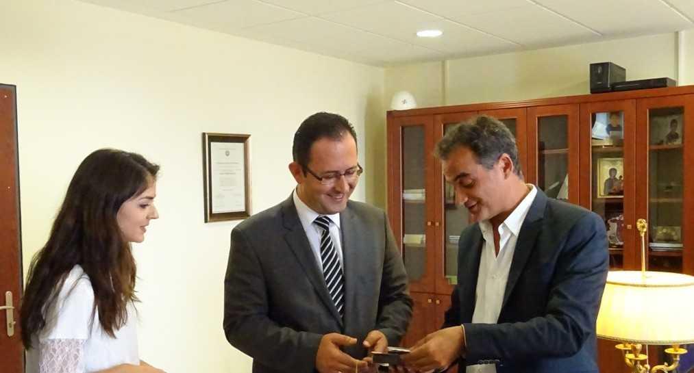Επίσκεψη Τούρκου Προξένου στον Περιφερειάρχη Δυτικής Μακεδονίας