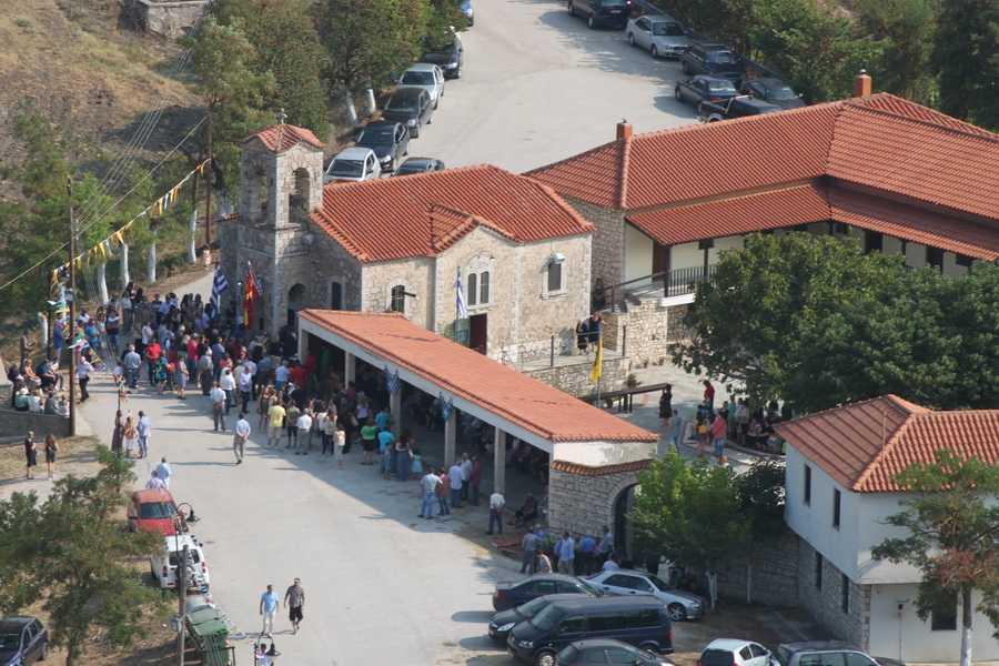 Κατανυκτική πανηγυρική Θεία Λειτουργία στην Ι. Μονή Οσίου Νικάνορα Ζάβορδας