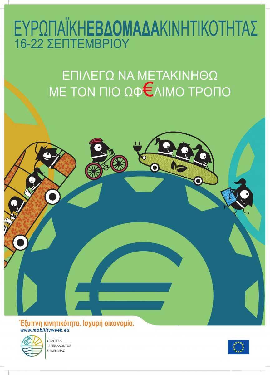 ΣΥΜΜΕΤΟΧΗ ΤΟΥ ΔΗΜΟΥ ΚΟΖΑΝΗΣ ΣΤΗΝ Ευρωπαϊκή Εβδομάδα Κινητικότητας  «Έξυπνη Κινητικότητα – Ισχυρή Οικονομία». ΟΛΟΚΛΗΡΟ ΤΟ ΠΡΟΓΡΑΜΜΑ