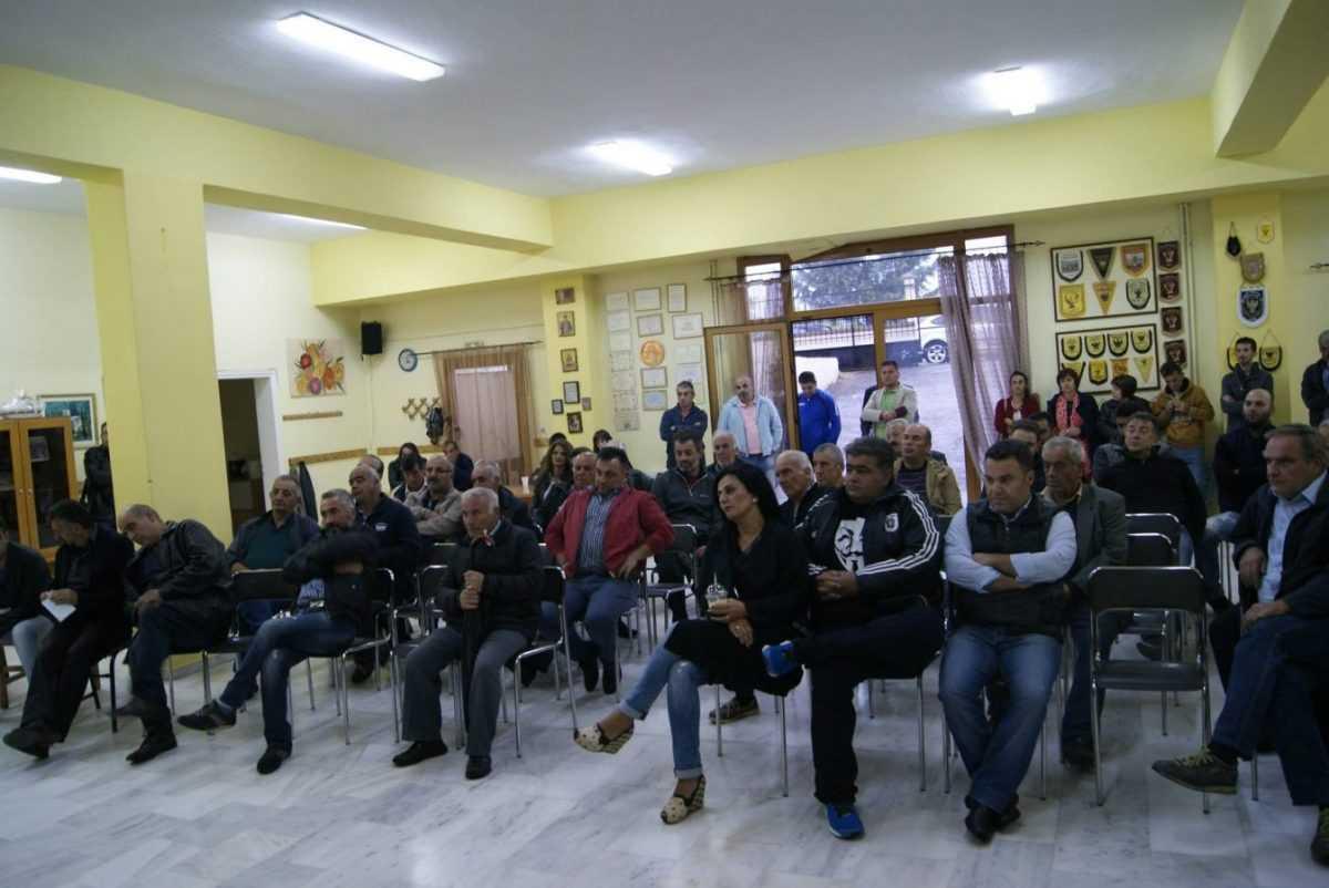 Λαϊκή συνέλευση στην Τ.Κ. Αγίου Δημητρίου – Λευτέρης Ιωαννίδης: «Η περιοχή χρειάζεται άμεσα ένα καθεστώς υποστήριξης»