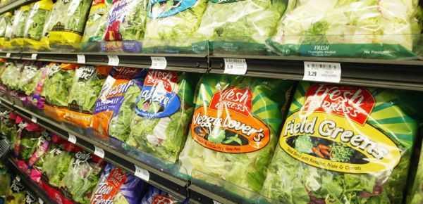 Κίνδυνος σαλμονέλλας στις κομμένες σαλάτες