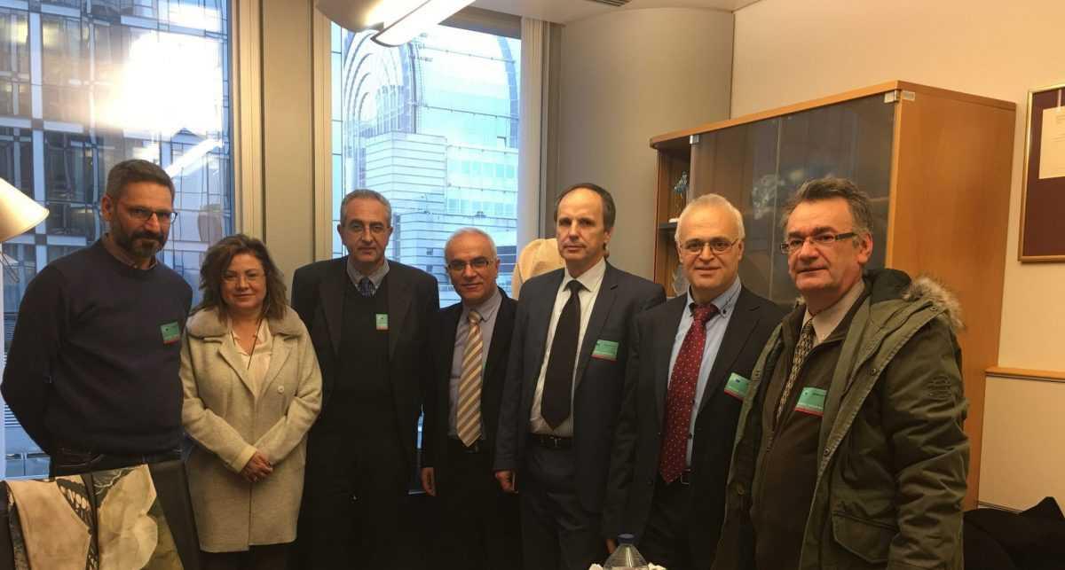 Επίσκεψη και επαφές στις Βρυξέλλες για το Ταμείο Δίκαιης Μετάβασης από αντιπροσωπεία της Κοζάνης με επικεφαλής τον Λευτέρη Ιωαννίδη