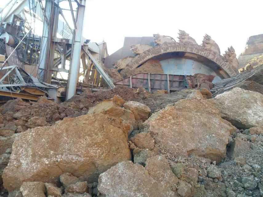 Εργατικό ατύχημα στο ορυχείο του Νότιου Πεδίου της ΔΕΗ με δύο τραυματίες. Ως εκ θαύματος δεν υπήρξαν νεκροί