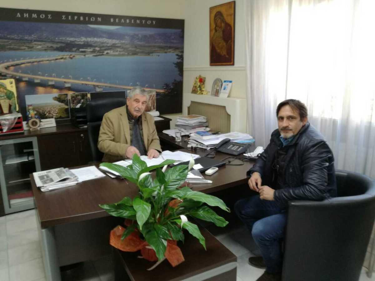 Δήμος Σερβίων – Βελβεντού: Κατασκευή νέων αθλητικών εγκαταστάσεων στο Βελβεντό.