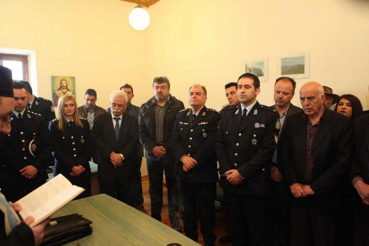 Έναρξη λειτουργίας του θεσμού του Τοπικού Αστυνόμου  και στην Τοπική Κοινότητα Τσοτυλίου