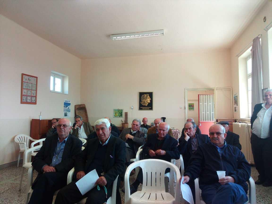 Ενημέρωση για το τελικό νομοσχέδιο γα τους δασικούς χάρτες πραγματοποιήθηκε στην Κερασιά Κοζάνης
