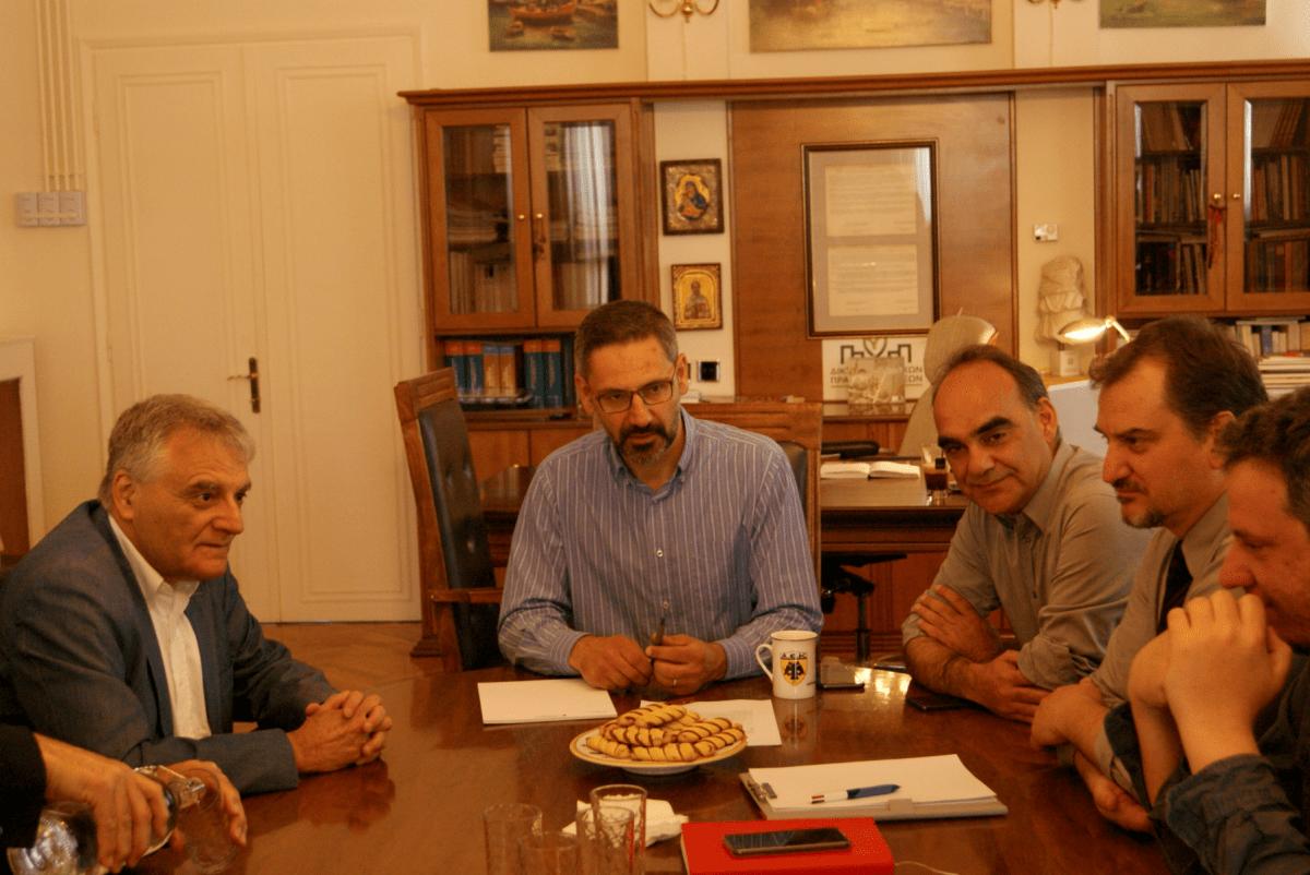Συνάντηση της Δημοτικής Αρχής με τον Γ.Γ. του υπουργείου Εσωτερικών