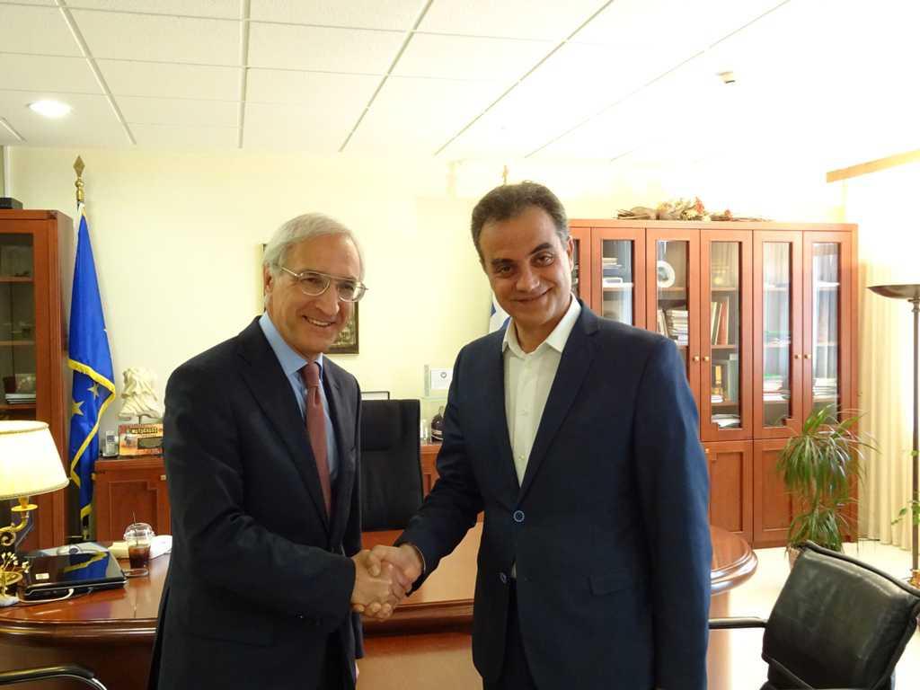 Συνάντηση του Περιφερειάρχη Δυτικής Μακεδονίας  με το νέο Γενικό Πρόξενο της Ρωσίας
